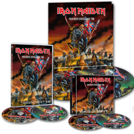 Maiden England'88 | History Of Iron Maiden Part 3 (EMI 2013)